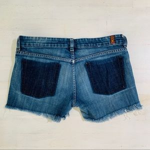 7 For All Mankind A Pocket Shorts